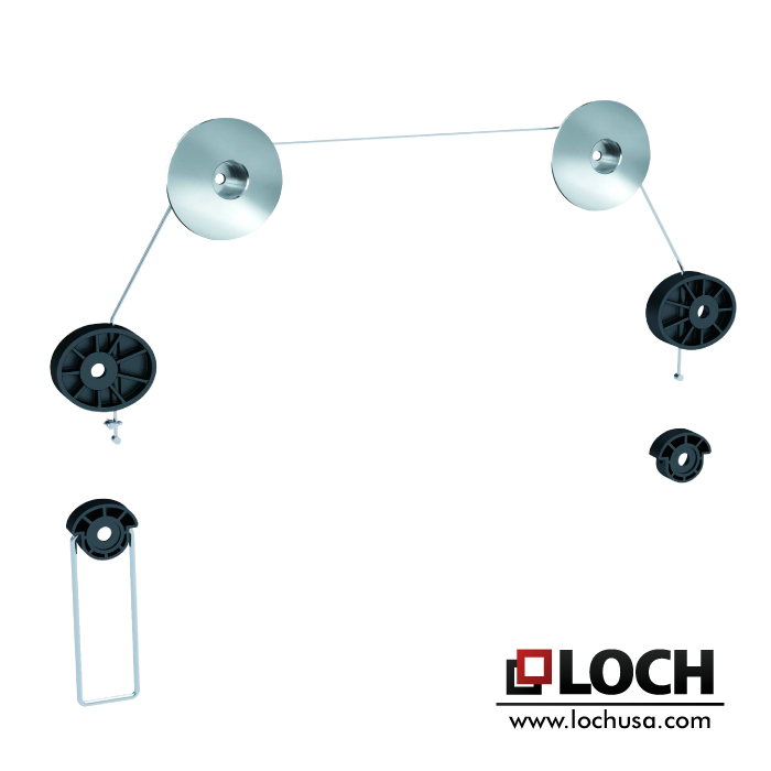 LOCH BRL-25R Ultra Slim Wall Mount