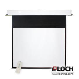 ES In-ceiling Motorized Screen